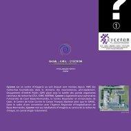 Inauguration de Cyceron (pdf) - CNRS