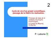 P. Laborie - IN2P3