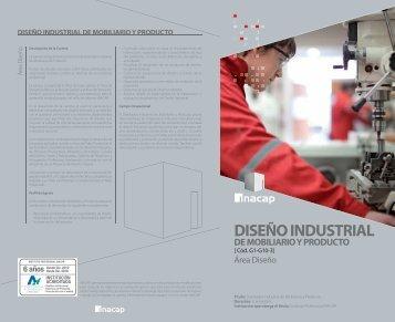 diseño industrial de mobiliario y producto - Inacap