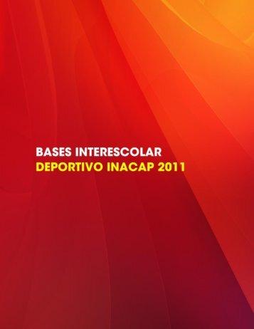 descargar las bases del campeonato - Inacap