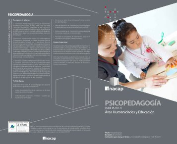 PSICOPEDAGOGÍA - Inacap
