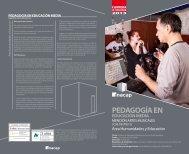 pedagogía en educación media - Inacap