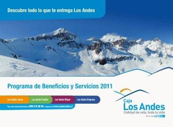 Programa de Beneficios y Servicios 2011 - Inacap