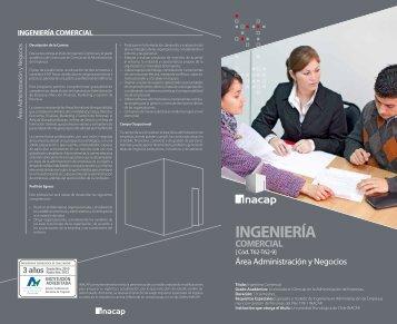 ingeniería comercial - Inacap