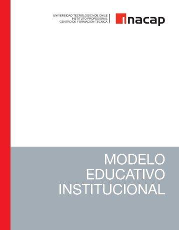 Modelo Educativo Institucional - Inacap