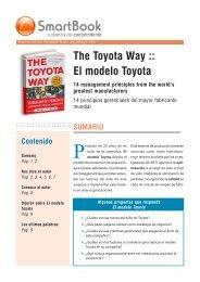 El modelo Toyota - Inacap