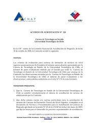 Acuerdo de Acreditación N° 324: Carrera de Tecnología en ... - Inacap