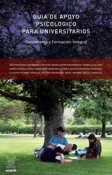 GUIA DE APOYO PSICOLOGICO PARA UNIVERSITARIOS