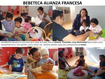 BEBETECA ALIANZA FRANCESA - inaoe