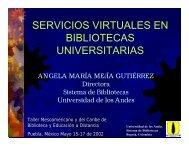 SERVICIOS VIRTUALES EN BIBLIOTECAS UNIVERSITARIAS - inaoe