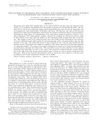 stellar disks of collisional ring galaxies i. new multiband ... - inaoe