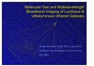 Molecular Gas and Multiwavelength Broadband Imaging of ... - inaoe