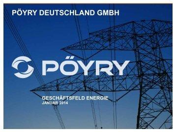 geschäftsfeld energie - Pöyry Deutschland GmbH