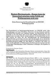 Merkels Märchenstunde – Krasser kann der Unterschied zwischen ...