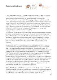 EEG-Eckpunkte gefährden 95 Prozent des geothermischen ...