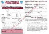 2012 NQ TROPICS CHAMPIONSHIPS - INBA