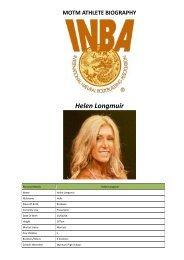 Helen Longmuir - INBA