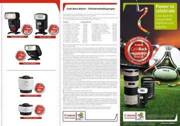 Power to celebrate - Canon Deutschland