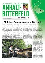 Ausgabe 12 vom 14. Juni 2013 - Landkreis Anhalt-Bitterfeld