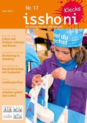 Isshoni Juni 2013 - Lebenshilfewerk Mölln-Hagenow gGmbH