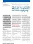 Sonderdruck (PDF) - Klinik und Poliklinik für Hals-, Nasen-, Ohren ... - Seite 2