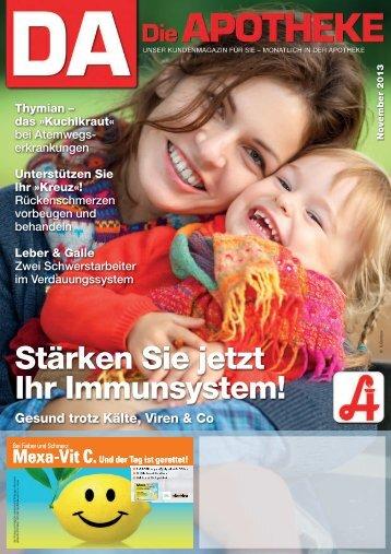 Stärken Sie jetzt Ihr Immunsystem! - Österreichische ...