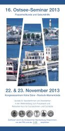 Programm 16. Ostsee-Seminar 2013 PDF - DGGG