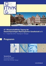 Das Programm zur MYK' 2013 - DMykG eV