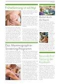 Brustkrebs - Gesundheitszentrums Wetterau - Seite 4