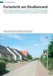 Fortschritt am Straßenrand - Indal Deutschland GmbH
