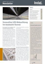 Newsletter - Indal Deutschland GmbH