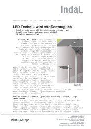LED wird strassentauglich_Aussendung_v2 - Indal Deutschland ...