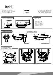 080226 Gebruiksaanwijzing 2620 - Indal Deutschland GmbH