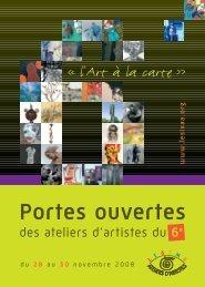Liste des ateliers d'artistes (pdf) - Inde à Paris