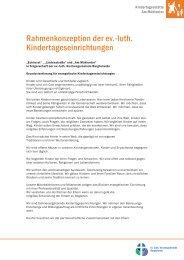 Rahmenkonzeption der ev.-luth ... - Indekark.de