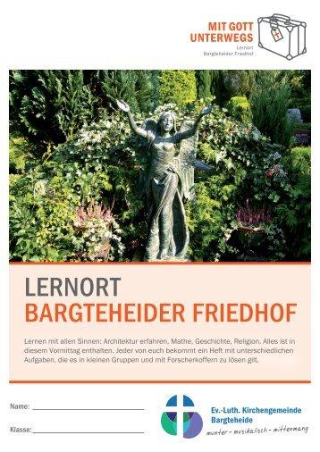 "das Heft ""Lernort Bargteheider Friedhof"" - Indekark.de"
