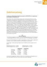 Gebührensatzung - Indekark.de