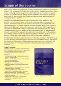 Operational Research - Inderscience Publishers - Page 2