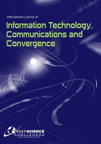 Information Technology, Communications and Convergence