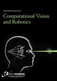 International Journal of Computational Vision and Robotics