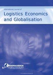 International Journal of Logistics Economics and Globalisation