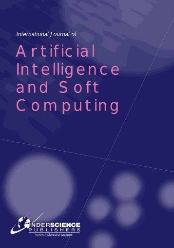 Artificial Intelligence and Soft Computing - Inderscience Publishers