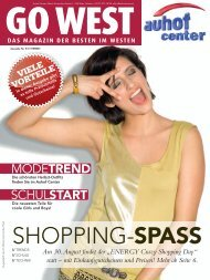 SHOPPING-SPASS - Auhofcenter