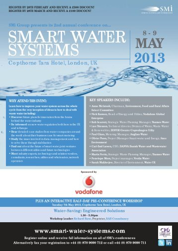 smart water systems