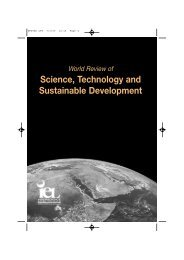 Science, Technology and Sustainable Development - Inderscience ...