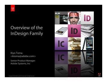 ID Family – IDUG - InDesign User Group
