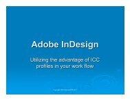 Adobe InDesign - InDesign User Group