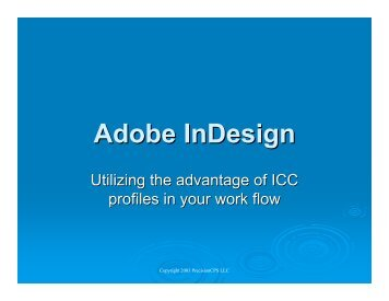 Adobe InDesign - InDesign User Group