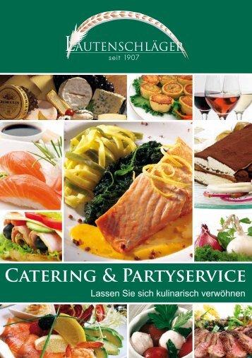 Catering-Broschüre zum downloaden - Feinkost Lautenschläger