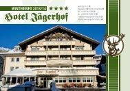 aktuelles prospekt - Hotel Jägerhof